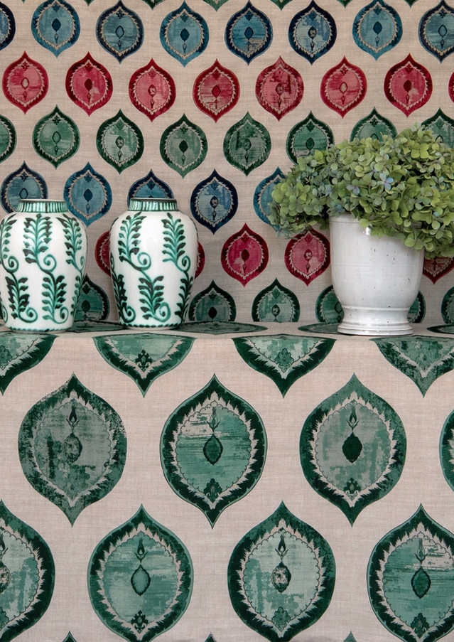 Ottoman Ogival Muliti Mini & Emerald Ogival