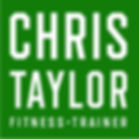 Chris Taylor Fitness Trainer brand ident