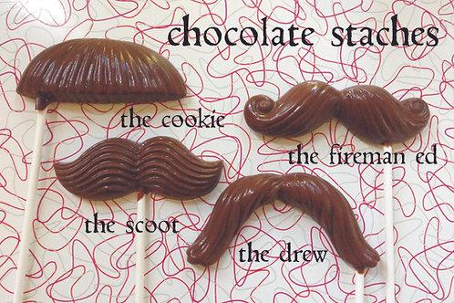 chocolate stache
