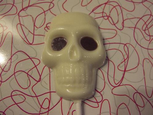 skull lolly