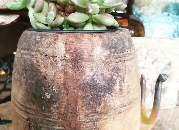 Indian Timber Pot