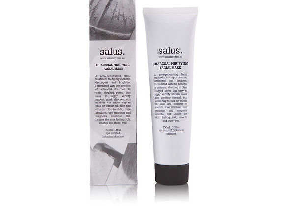 Salus Charcoal Purifying Facial Mask