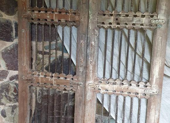 Vintage Iron & Teak Gates