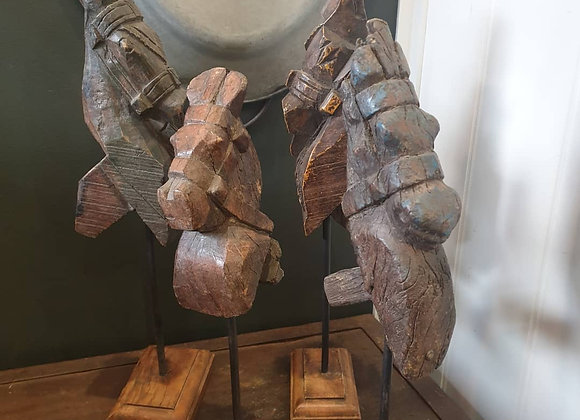 Decorative Carved Horses