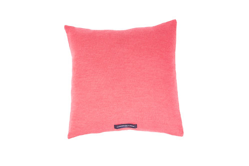 UPCYCLED CUSHION - CORAL