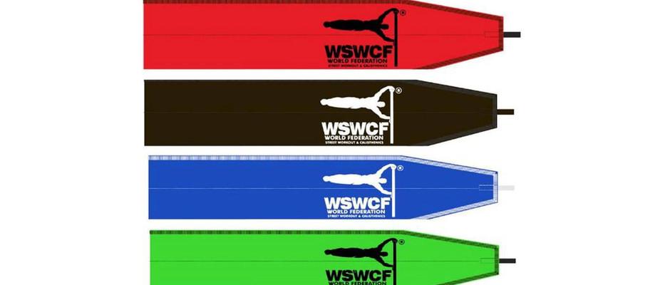 各レベルの合格を証明するWSWCF公式リストバンド(限定品)が授与