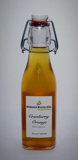 Cranberry Orange White Balsamic Vinegar - 8.5 oz