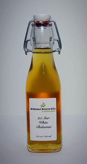 25 Star White Balsamic Vinegar - 8.5 fl. oz.