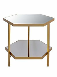 Mirror Gold End Table.jpg