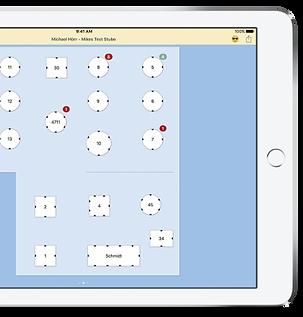 Posmatic table plan