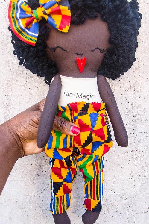 I am Magic rag doll