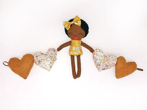 Rag Doll Amd Heart Bunting