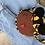 Thumbnail: Doll Face Crossbody Bag /BumBag - Kente Print