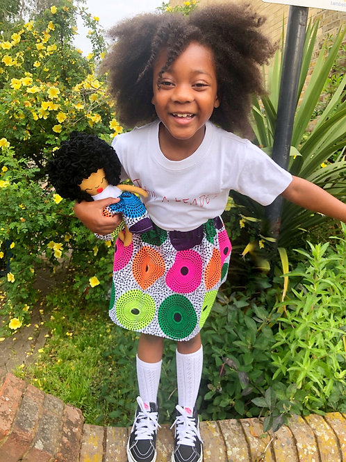 Upendo Series Matching Doll and Me set (skirts only)