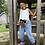 Thumbnail: Doll Face Crossbody Bag/Bum Bag Liberty Print  Adelajda C Brown