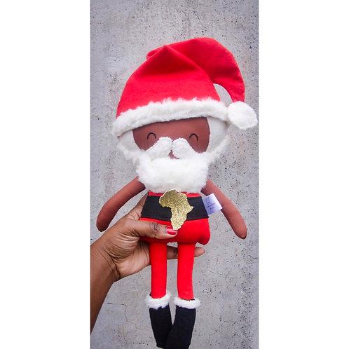 Father Christmas Rag Doll