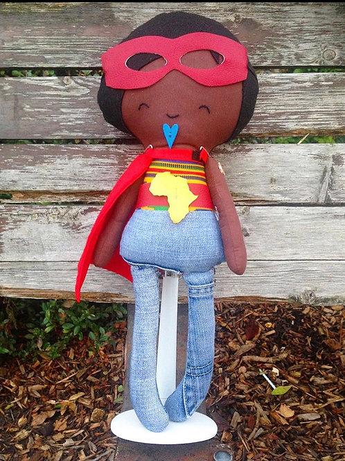Super hero boy doll