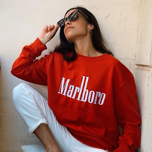 SUDADERA MARLBORO RED
