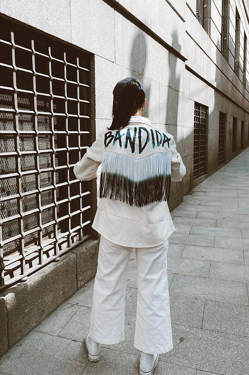 SOBRECAMISA BANDIDA BLANCA