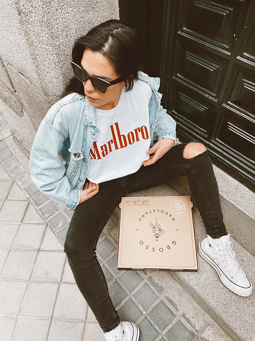 T-SHIRT MARLBORO RED