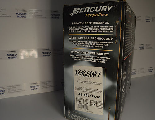 Mercury Vengeance Propeller 19p l