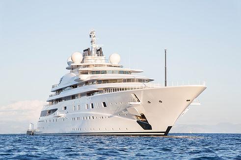 Gigantic big and large luxury mega or su