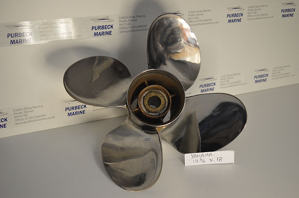Used Yamaha Propeller 13 3/4 x 18