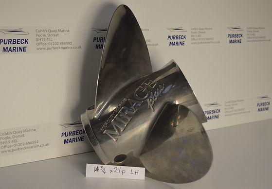 Mercury Mirage Propeller 14 3/4 21