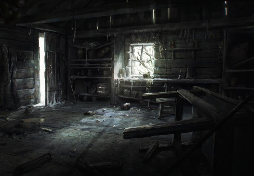 Frozen Hut Interior - View 1