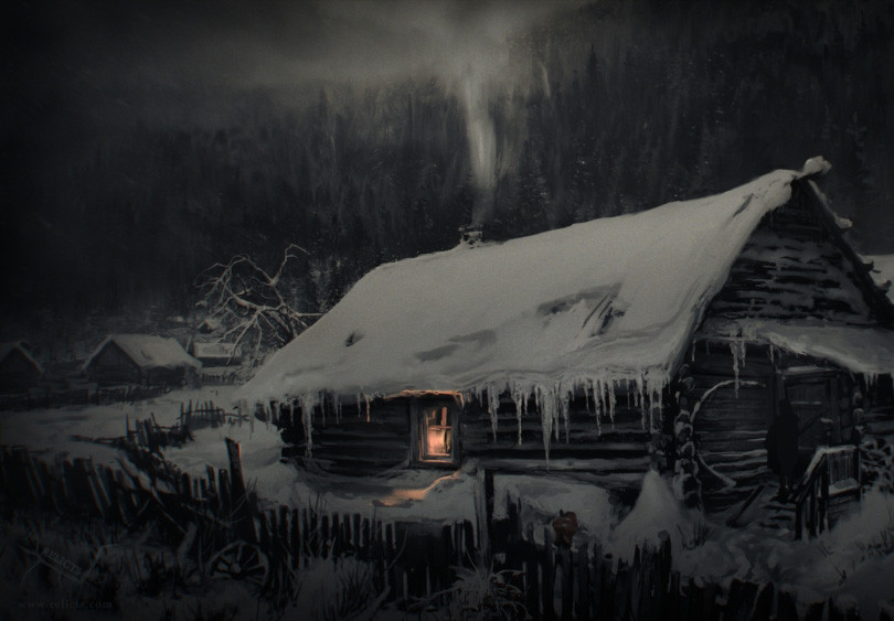 Main Hut Exterior