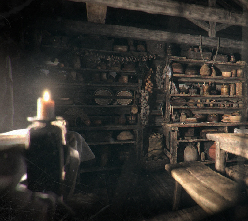 Main Hut Interior - Kitchen Wide02