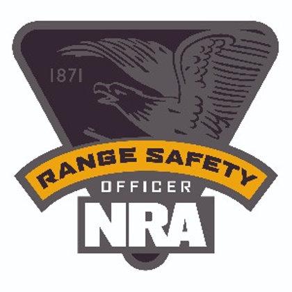 NRA Range Safety Officer Certification