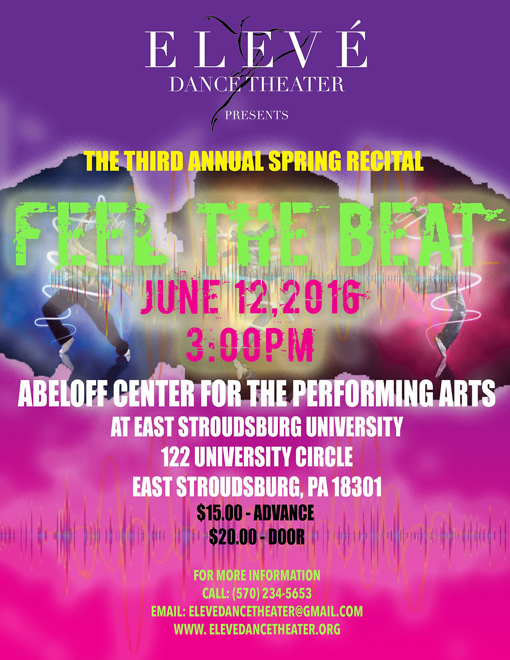 Eleve Dance Theater Feel the Beat