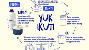 Resep Yogurt Homemade dari FRESH MILK