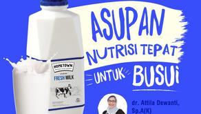 Pentingnya Asupan Nutrisi untuk Busui
