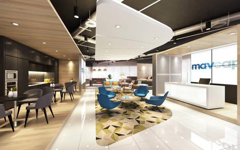 Mavcap Reception - SUA Interior Design P