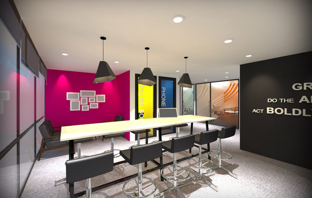 General Mills Interaction Room - SUA Int