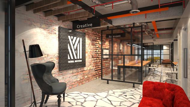 Rebel Motion - SUA Interior Design Proje
