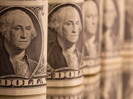 Dollar set for some other week of losses while Fed tapering looms