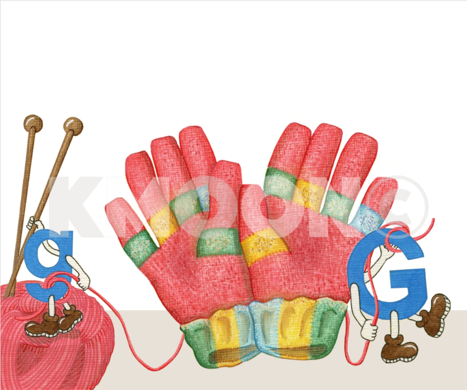 Gg is for ... gloves