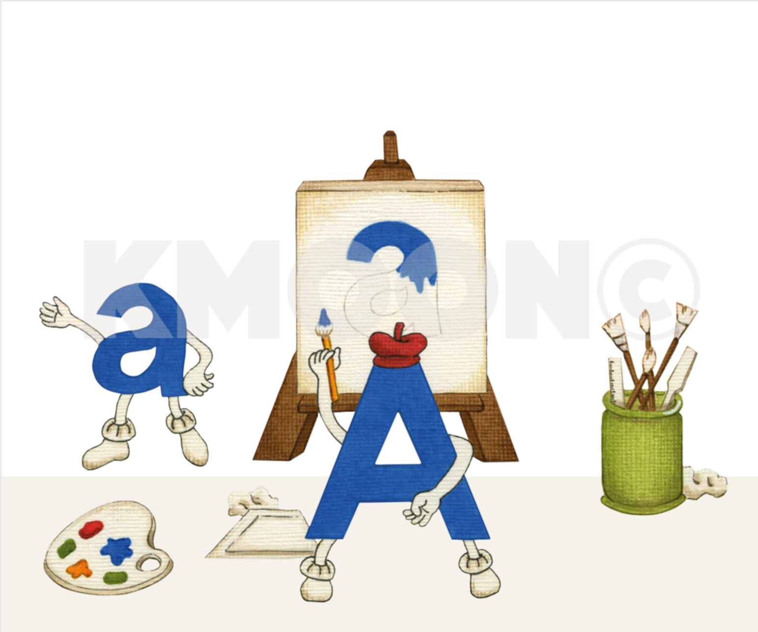 Aa is for ... artist