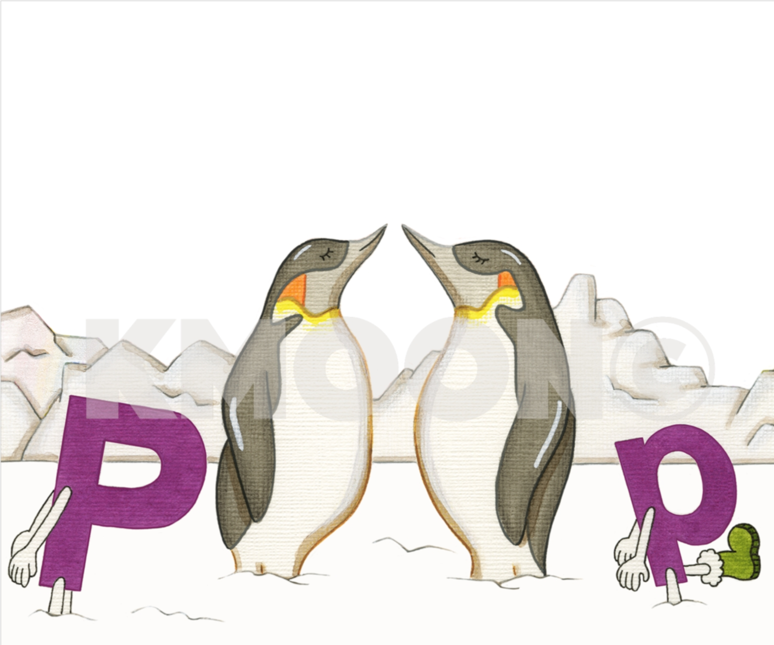 Pp is for ... penguin
