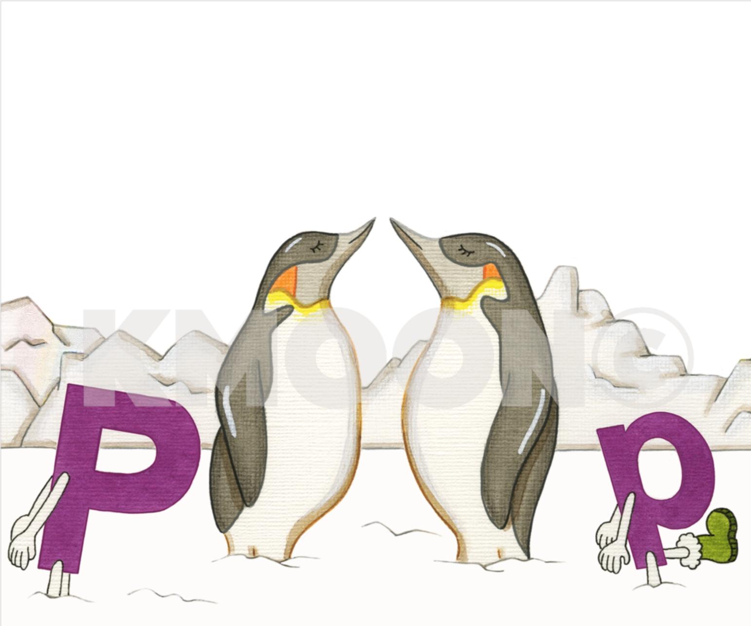 Pp is for ... penguin