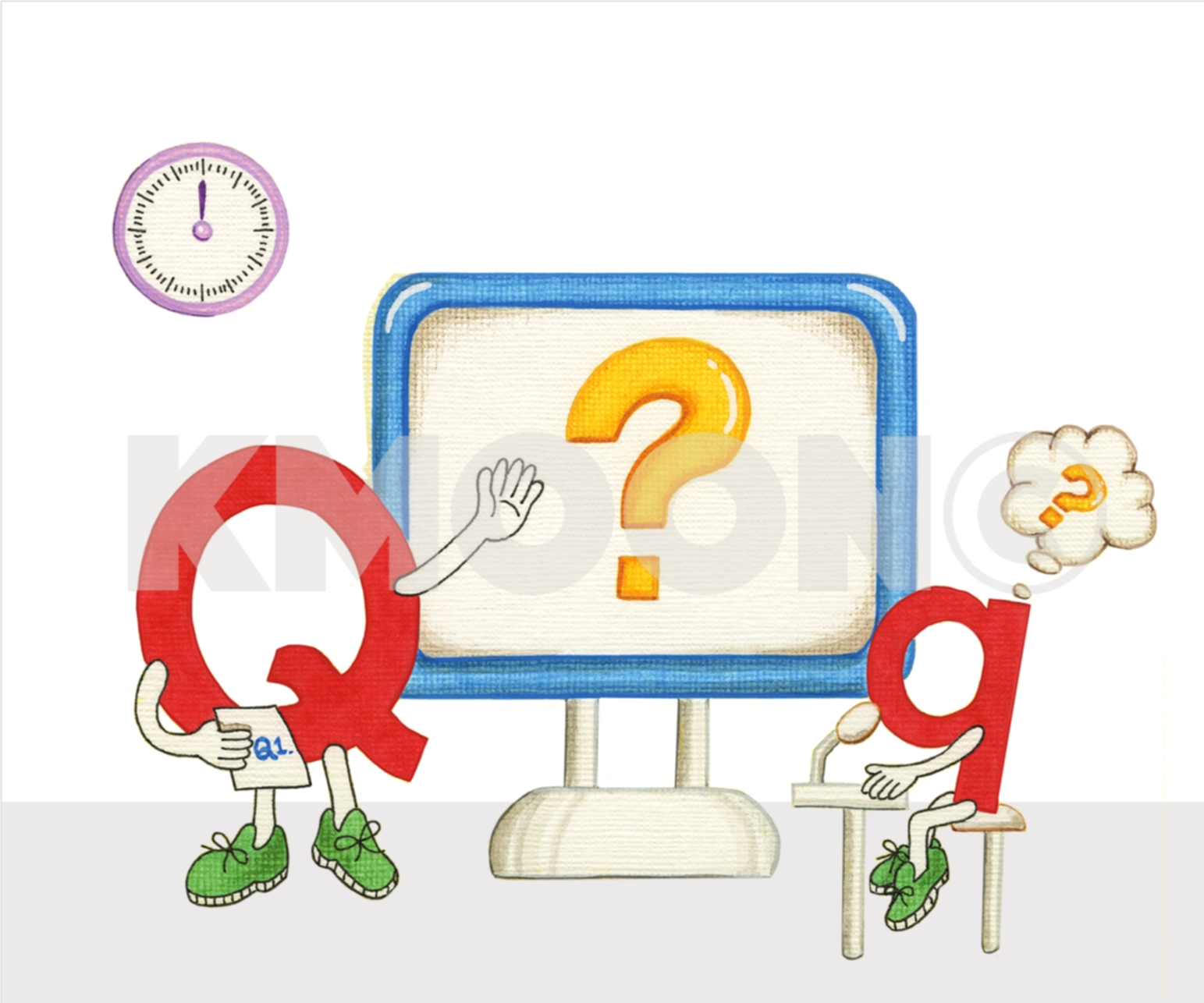 Qq is for ... question