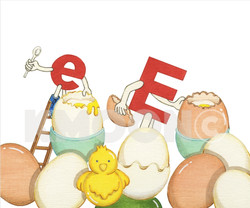 Ee is for ... egg