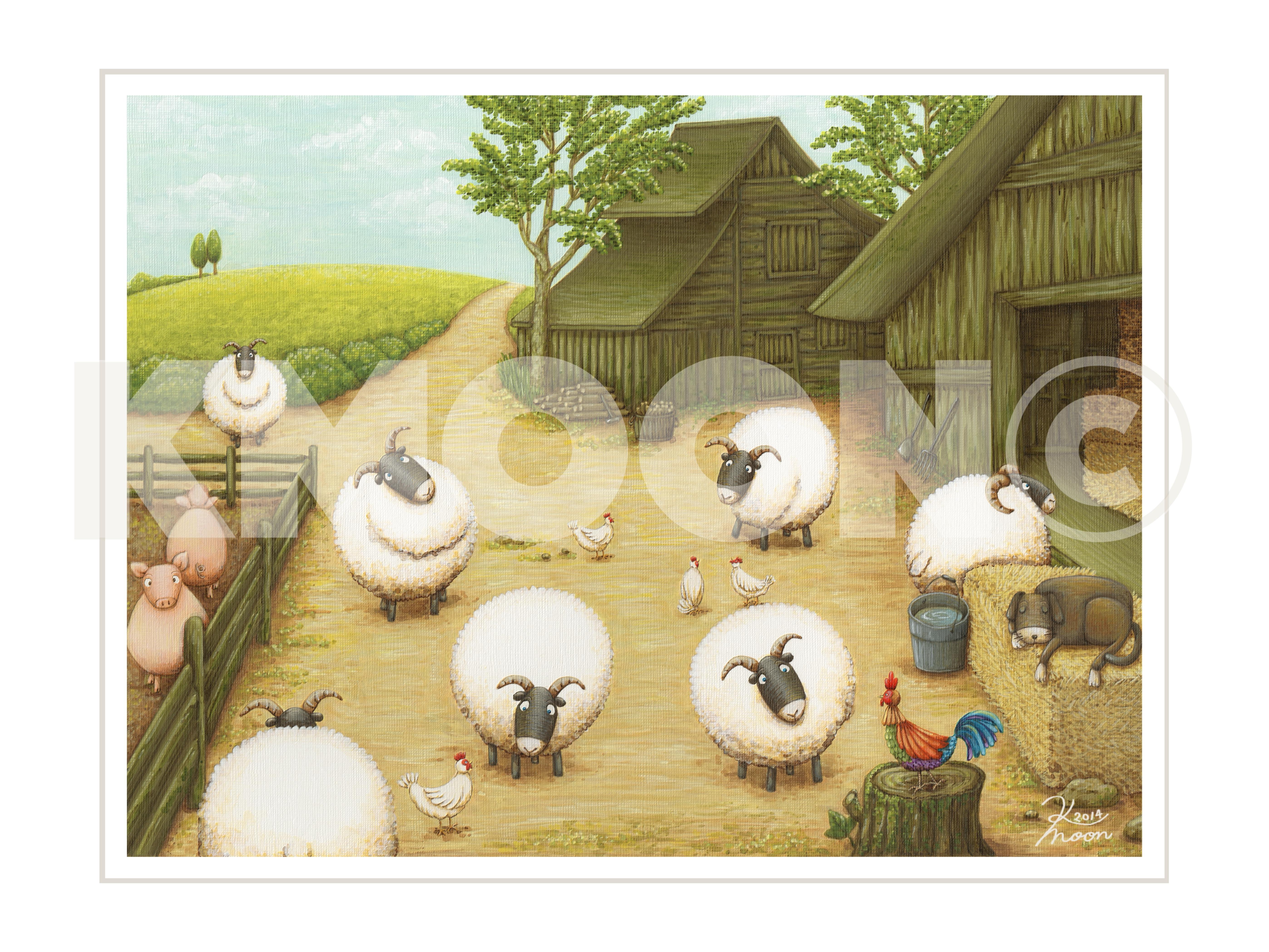 Farmyard Gathering