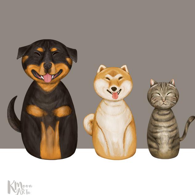 Happy Trio
