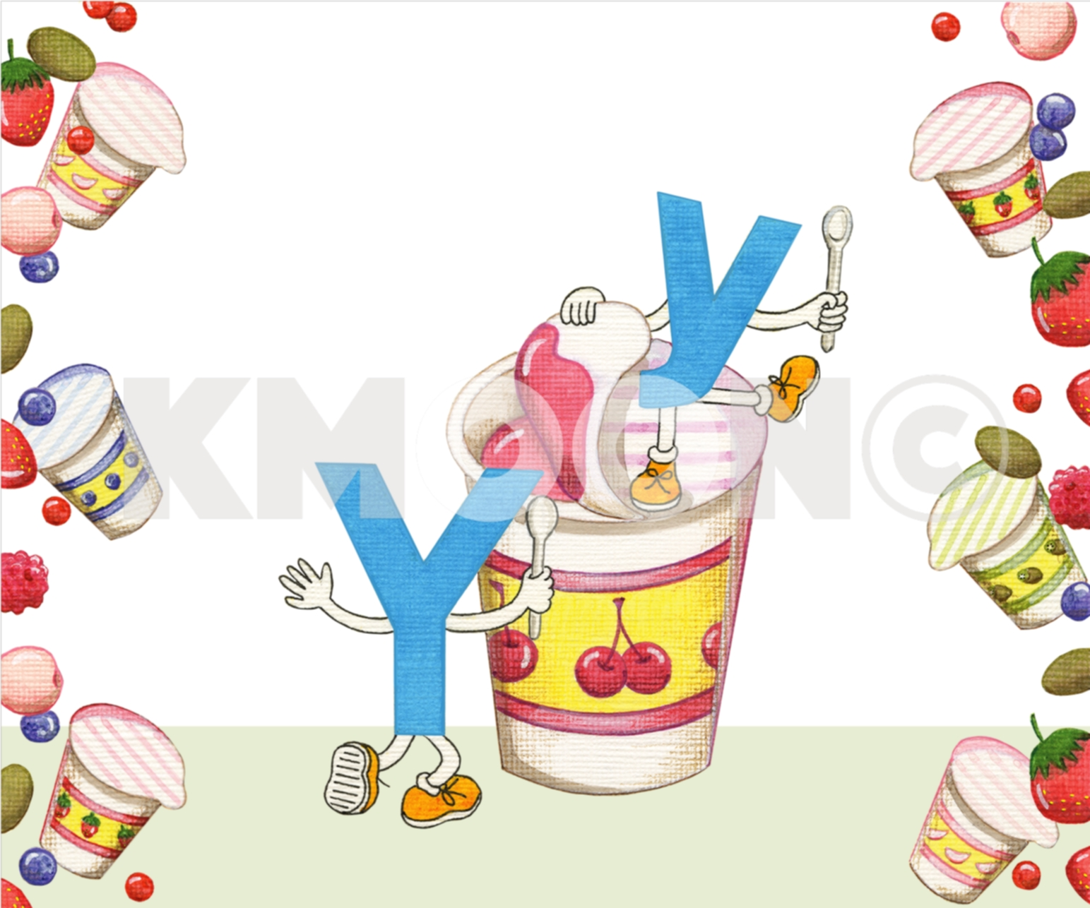 Yy is for ... yogurt
