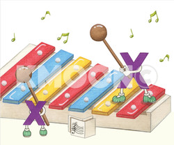 Xx is for ... xylophone