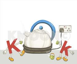 Kk is for ... kettle